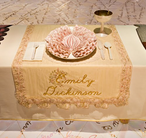 Detail of the Dinner Table, Emily Dickenson.