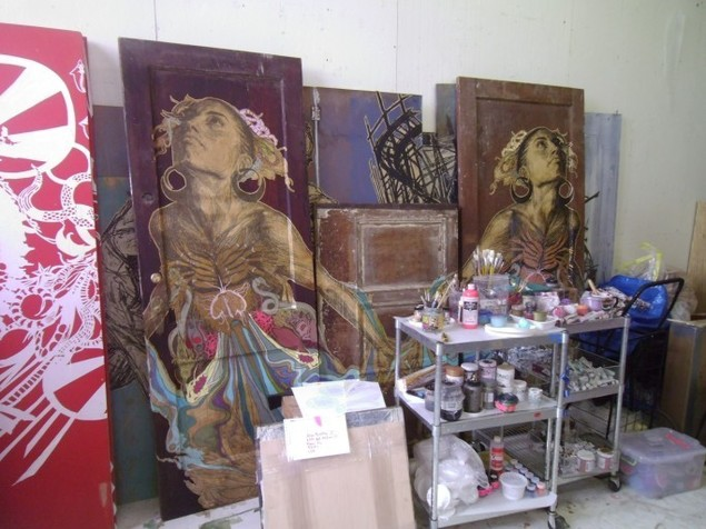 SWOON Experience: Studio Tour and Lunch , 2013